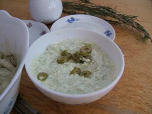 Grotaufstrich mit Gemüse