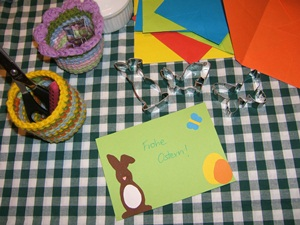 Easter card diy idea