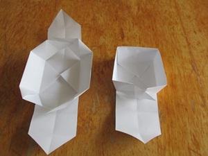 quick paper box folding