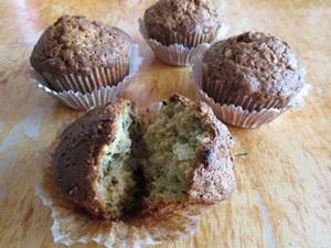 Fotos Rezept leichte Zucchini Muffins